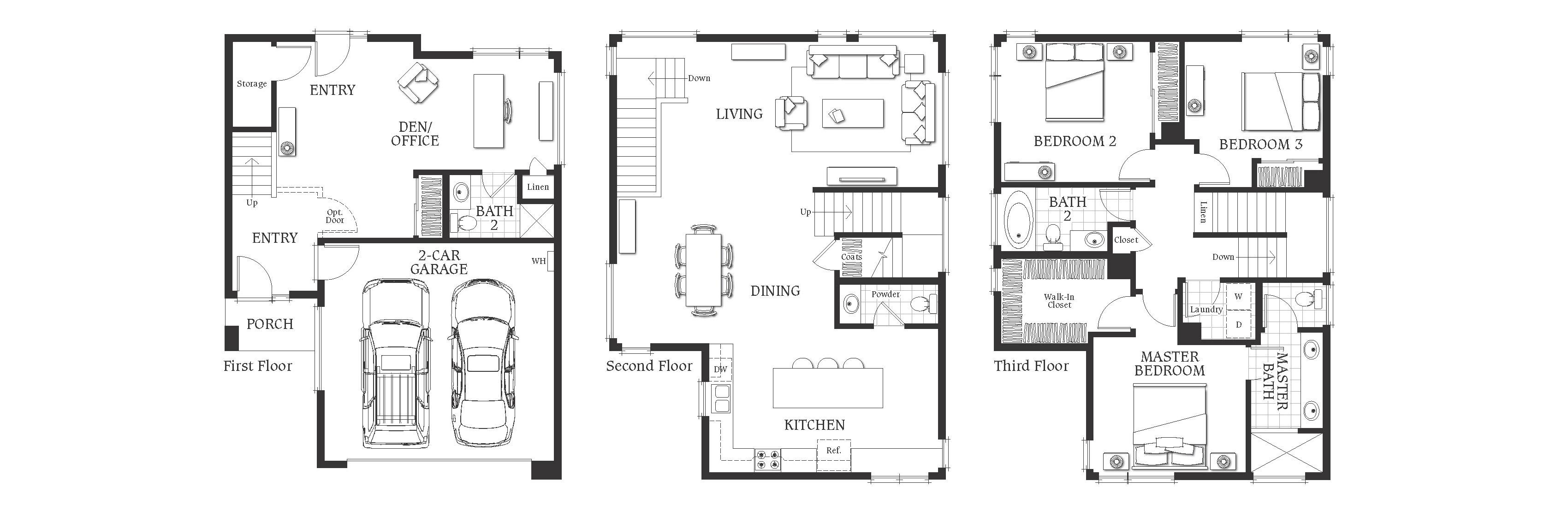 11724 Culver: Floor Plan B