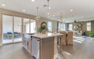 Those who want to buy a new home are looking for open floorplans and island kitchens like at Sespe's Plan 3.