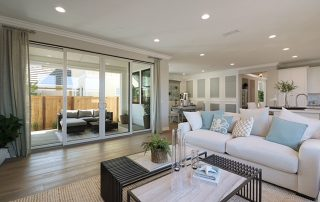 Olivas' new Ventura homes offer open, airy living spaces perfect for entertaining and daily enjoyment.